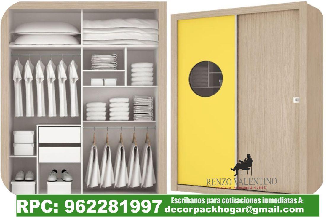 Fotos modelos dise os closet roperos dormitorios juveniles for Diseno zapateras para closet